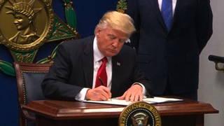 H02 travel ban signing