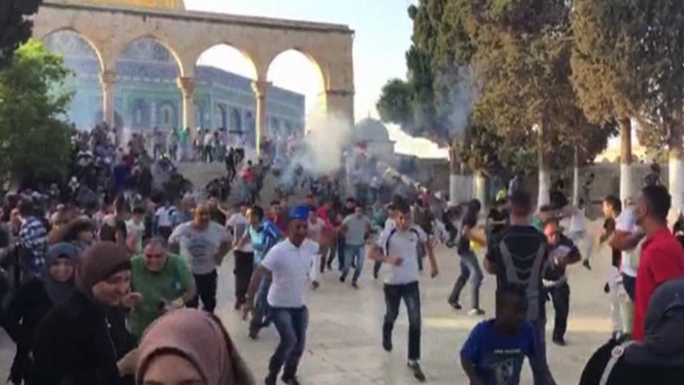 H11 palestinians injured