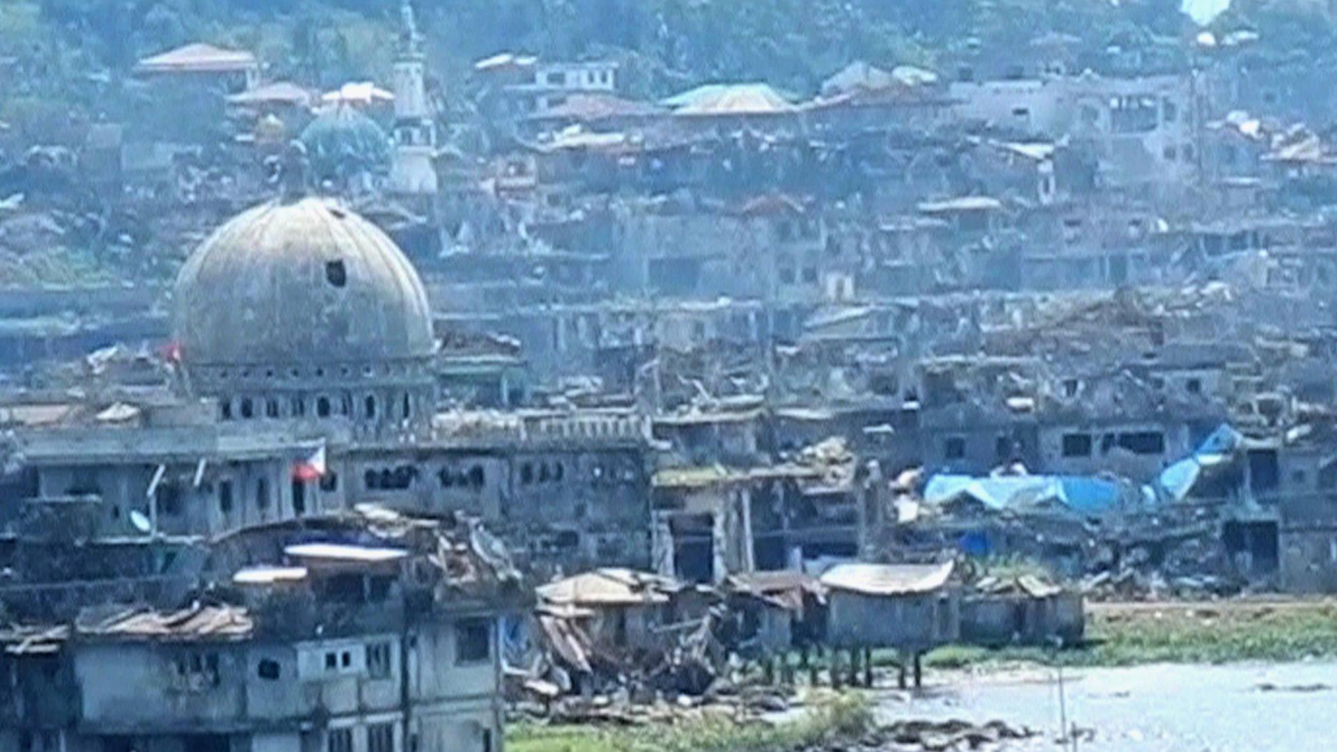 Resultado de imagen de Filipinas: Marawi, fuego bajo las ruina