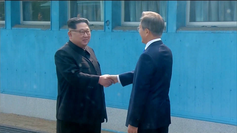 Korean President Pledges 'Bold Step' with N. Korea's Kim in Ending War