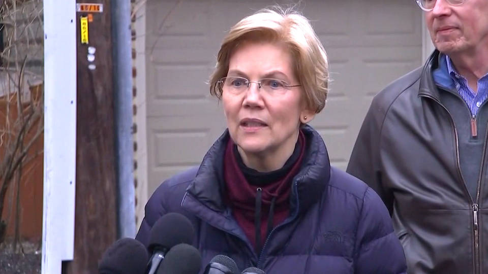 Sen. Warren Announces 2020 Presidential Exploratory Committee