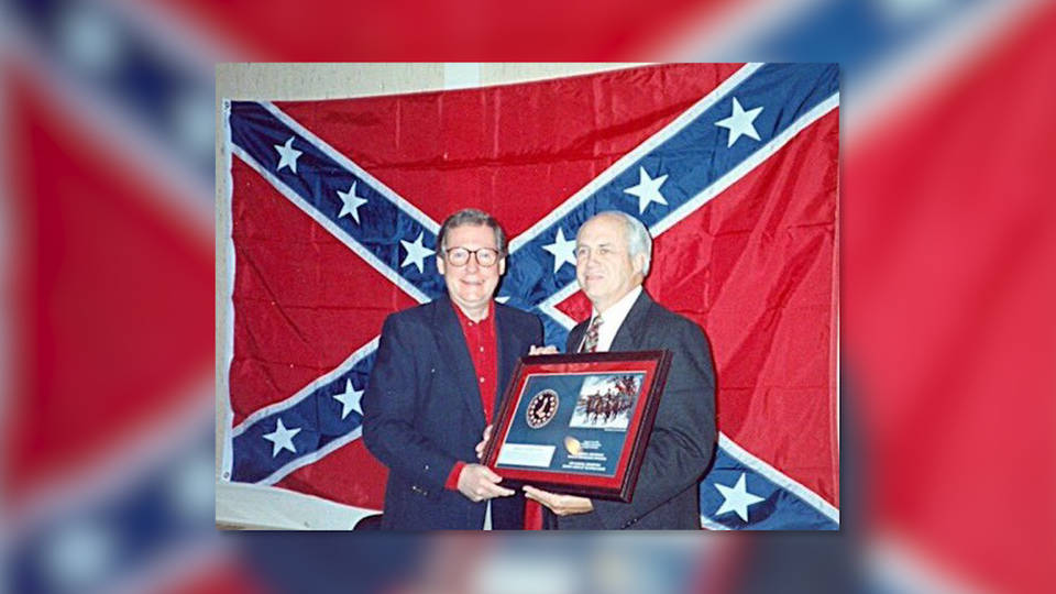 H4 mitch mcconnell confederate flag