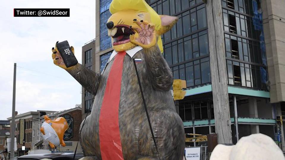 H17 protest trump