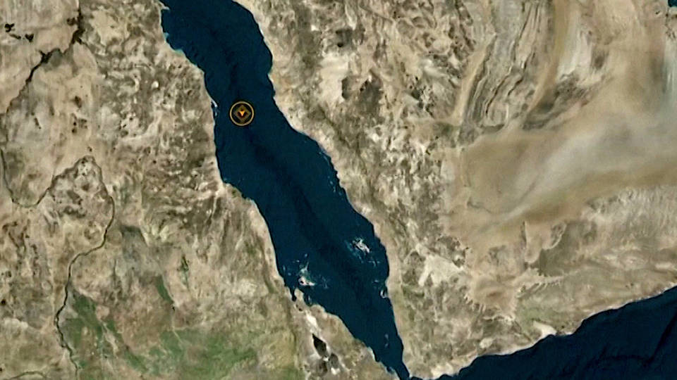 H7 iranian oil tanker missiles red sea
