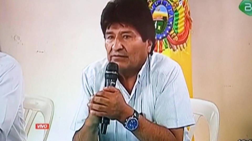 H1 bolivia evo morales resigns political crisis military coup