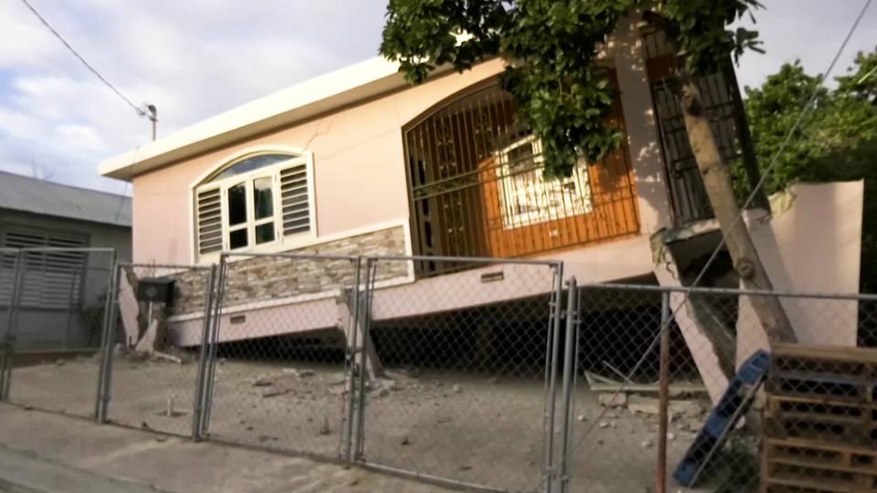 H10 earthquake knocks out power across puerto rico guanica punta ventana longest blackout