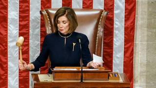 H1 house vote send impeachment articles senate