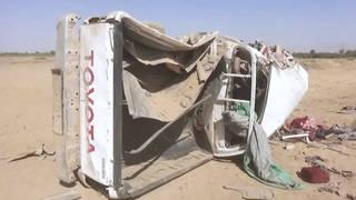 H6 airstrikes kill 31 people including children yemen