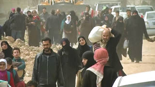 H4 syria civilians flee