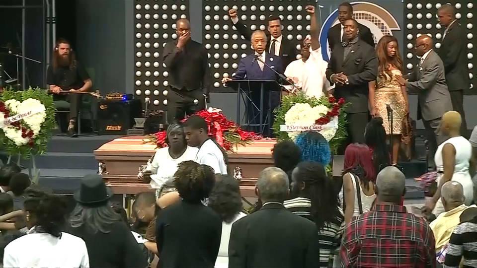 H14 stephon clark funeral