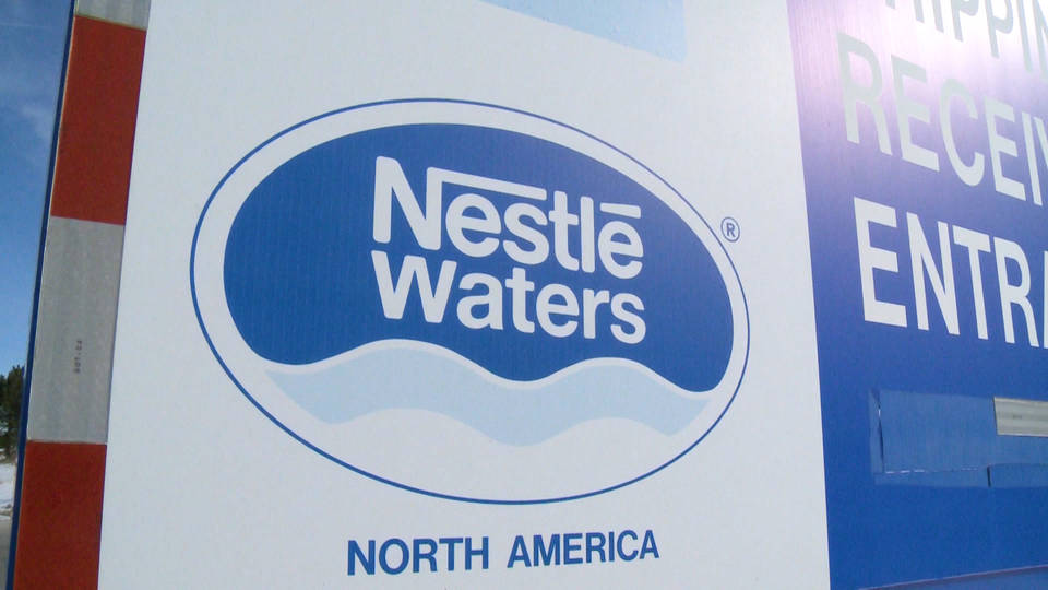 H12 nestle water bottle plant michigan controversy