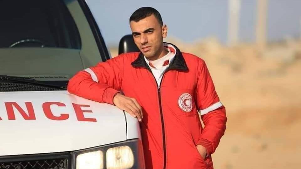 H mohammed al judeili gaza medic
