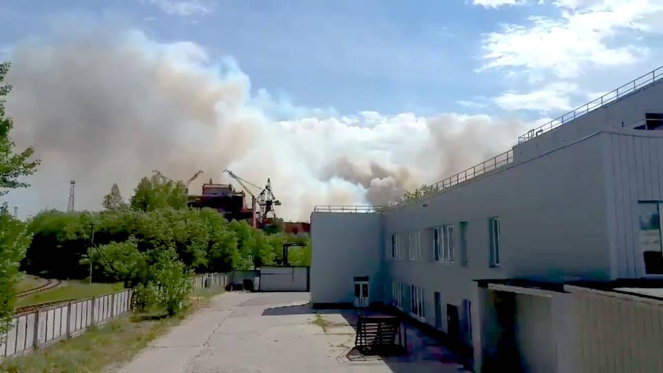 H12 chernobyl fires