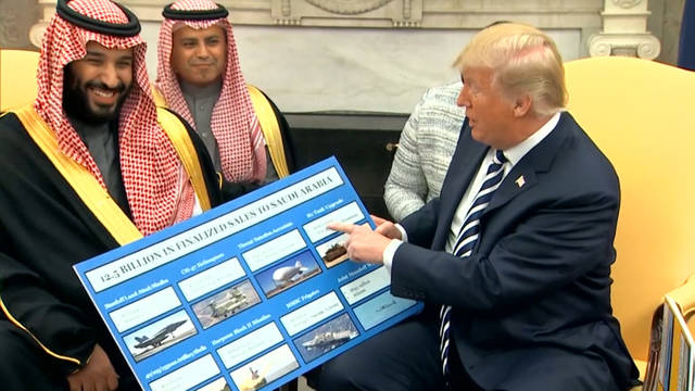 H1 trump saudis