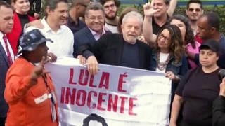 H2 brazil former president lula freed from prison jail