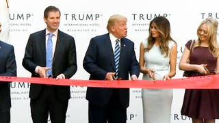 H3 dc sues trump inaugural committee over 1 million dollar rental trump hotel ballroom