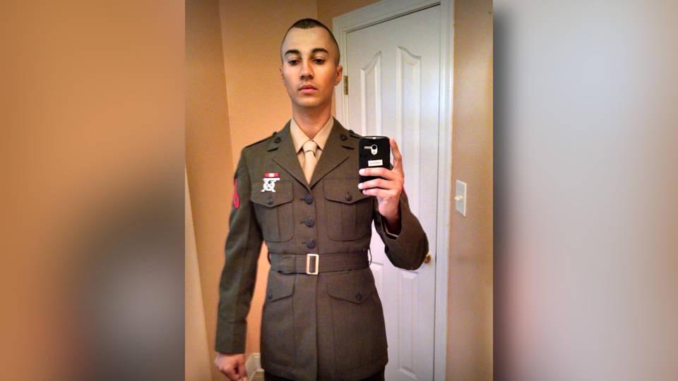 H16 charlottesville white supremacist us marine