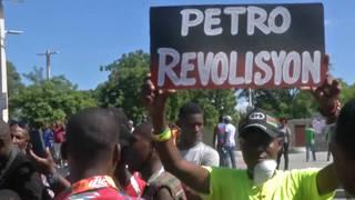 H17 haiti protester