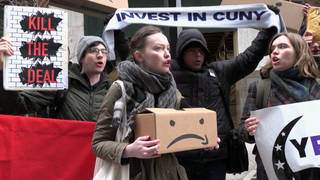H12 cuny amazon protest