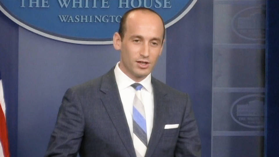 H8 over 100 lawmakers call on president trump to fire stephen miller white nationalism far right extremism