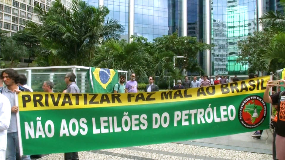 H18 brazil petroleum industry strike