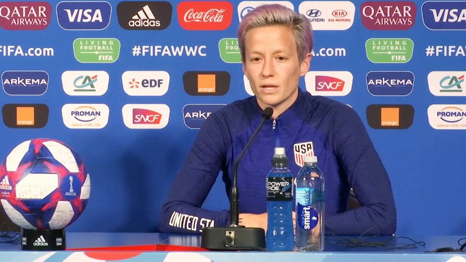 USWNT Captain Megan Rapinoe Says Teams 'Can't Win Championships Without Gay Players'