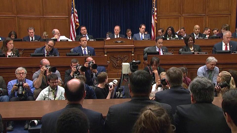 H1 whistle testify capitol hill house trump impeachment ukraine threats
