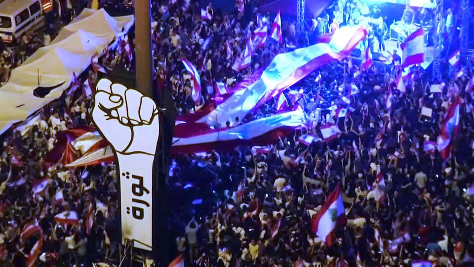 H9 anti governmnet protests continue sweep iraq lebanon algeria