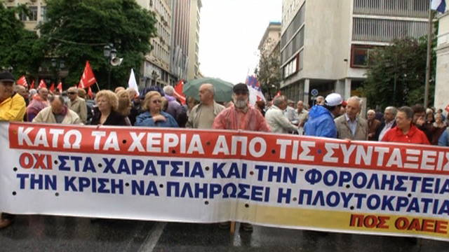 H11 greece protest
