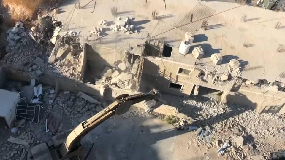 H8 israel demolishing palestinian homes west bank
