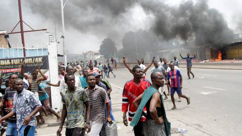 H6 congo protesters killed human rights