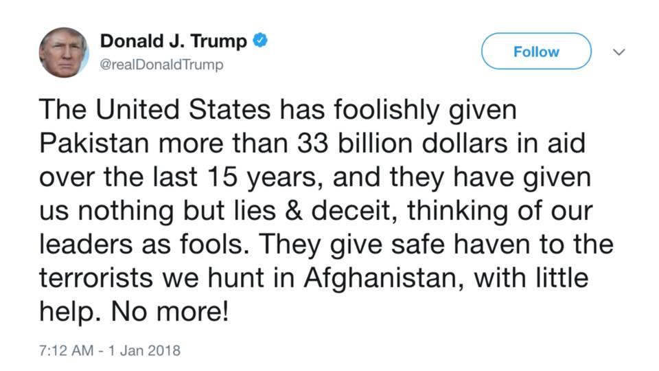 Trump pakistan