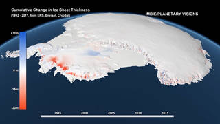 H4 antarctic ice melt