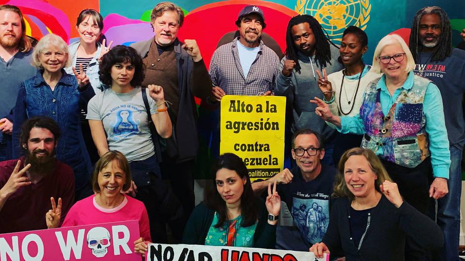 H10 venezuela embassy washington dc activists codepink2