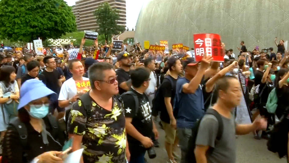 H5 hong kong protests extradition bill dead carrie lam
