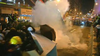 H7 hong kong pro democracy protests police tear gas extradition bill reforms