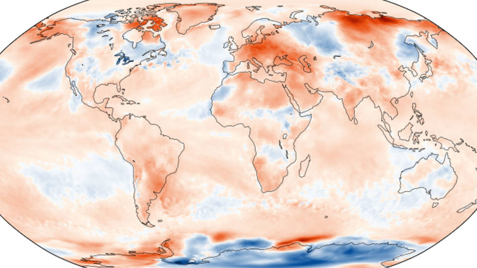 H map 1month anomaly june 2019