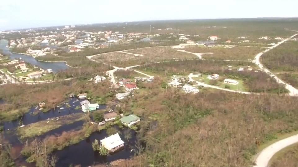 H2 bahamas hurricane dorian devastation aerial
