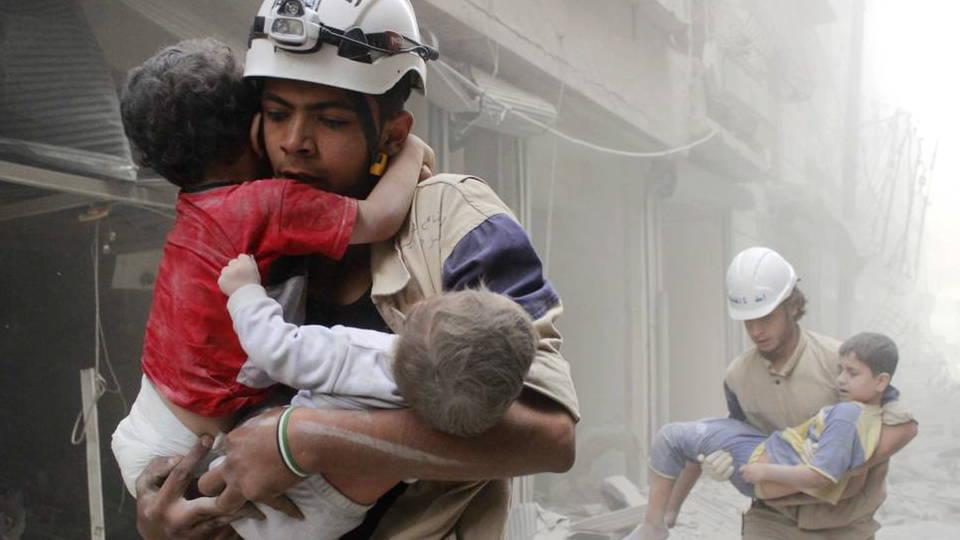 H7 syria white helmets award