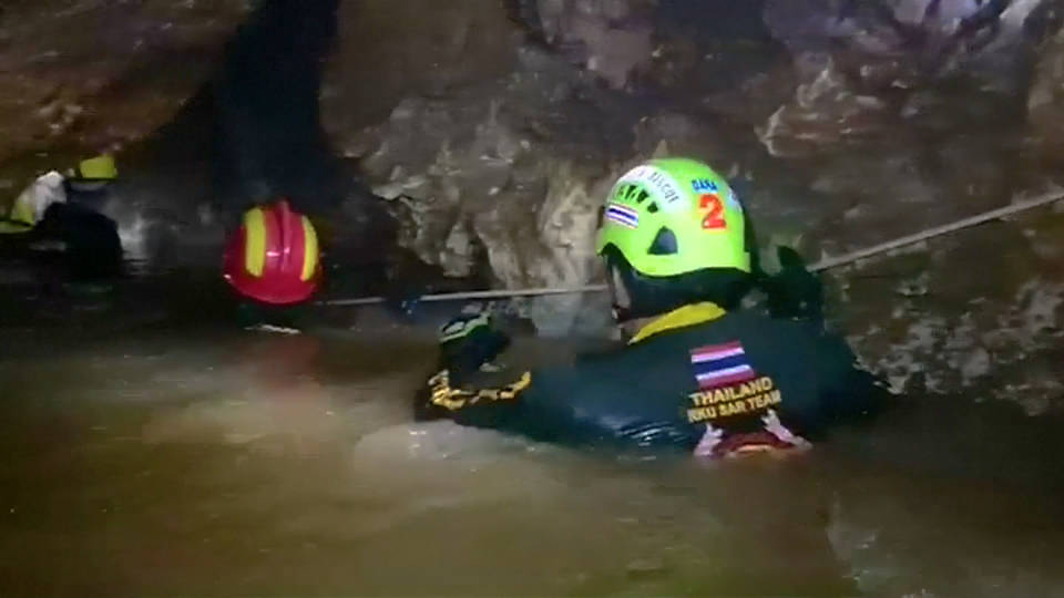 H13 thailand cave rescue efforts