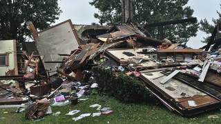 H4 wayne county ohio interracial couple house explosion hate crime swastika sterling