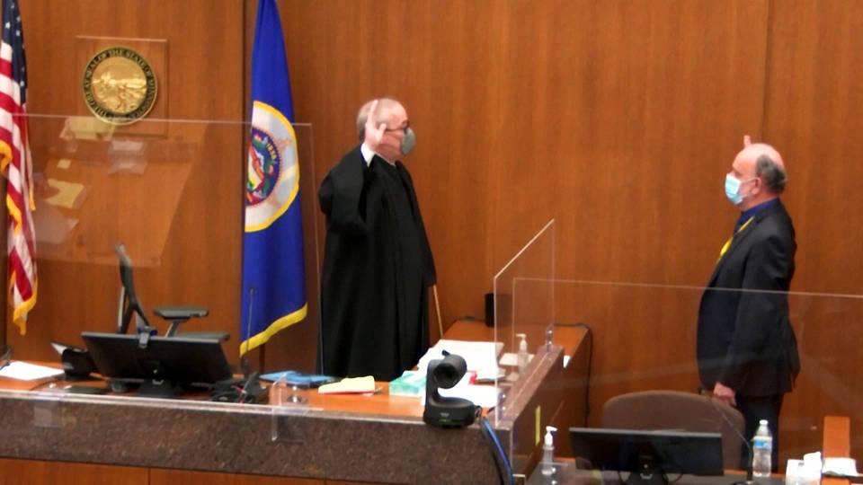 Chauvin skips testifying as trial in Floyd death nears end