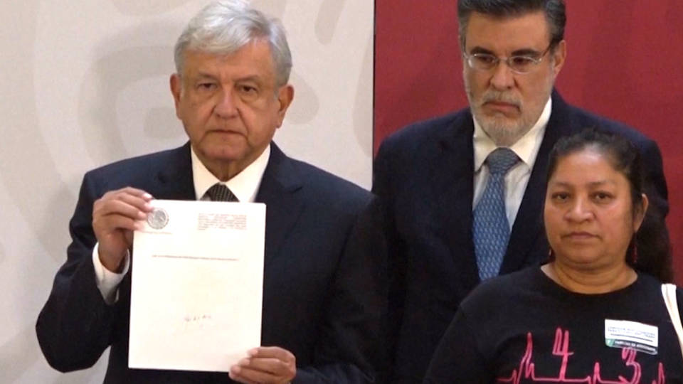 H8 amlo truth commission
