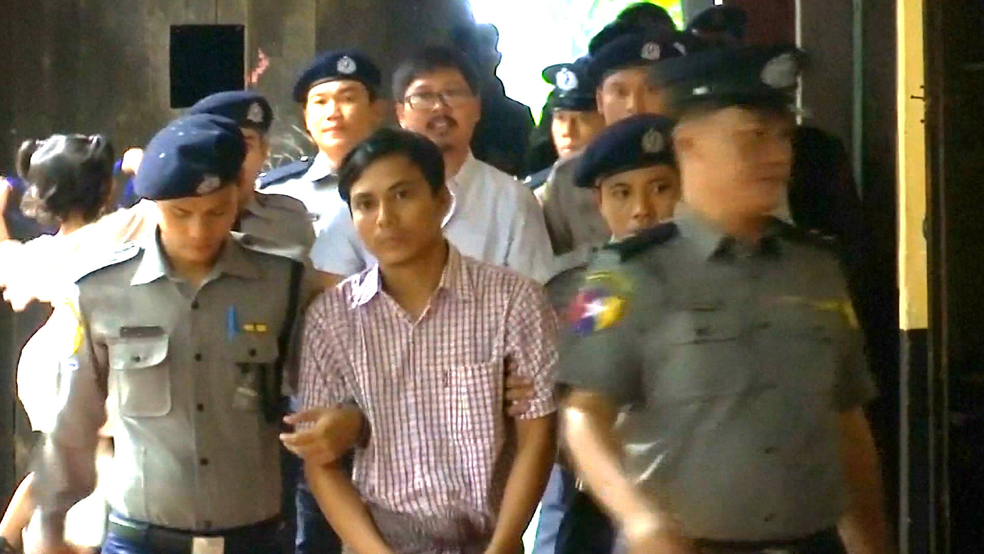 Burma's High Court Upholds 7-Year Sentences for Pulitzer-Winning Journalists