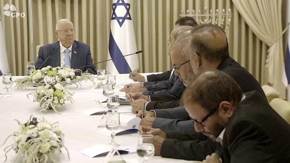 Israeli president to meet Netanyahu, Gantz tonight