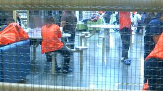 H5 detained ayslum seekers protest winnfield louisiana winn correctional center