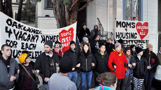 H10 mom4housing evicted arrested oakland vow continue fight