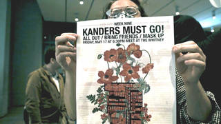 H16 whitney museum protesters activists tear gas manufacturers safariland warren kanders