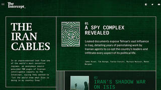 H2 the intercept iran iraq secret intelligence documents protests