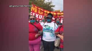 H13 mcdonalds protest